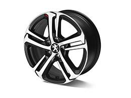 """PEUGEOT PEUGEOT 208 LIGNE 'S' 16"""" alloy wheel"""