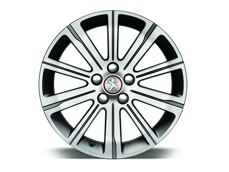 "PEUGEOT PEUGEOT 308 17"" Emerald alloy wheels"