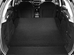 PEUGEOT PEUGEOT 2008 SUV Reversible luggage compartment mat