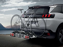 PEUGEOT PEUGEOT 5008 SUV Tow bar bike rack (2 bikes)