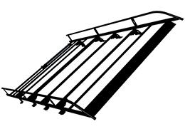 PEUGEOT PEUGEOT EXPERT Steel roof rack L2