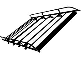 PEUGEOT PEUGEOT EXPERT Steel roof rack L3