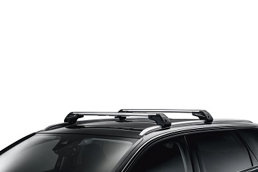 PEUGEOT PEUGEOT 5008 SUV Roof bars on longitudinal roof rails