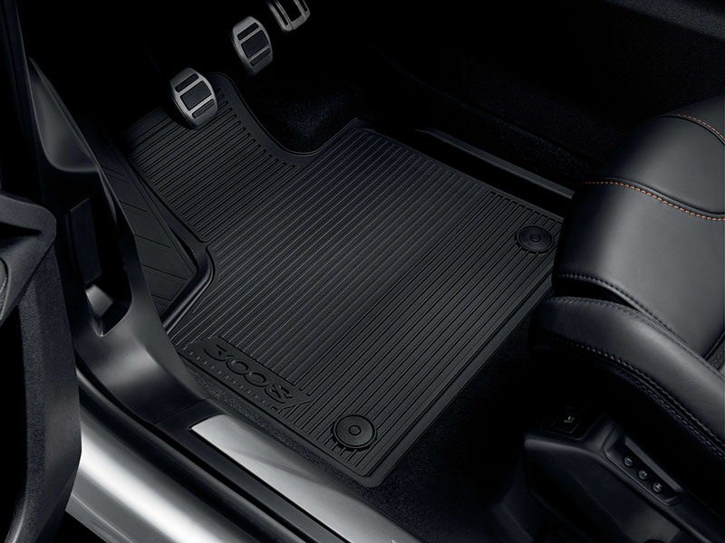 PEUGEOT PEUGEOT 3008 SUV Set of rubber floor mats - front and rear