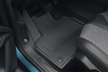 PEUGEOT PEUGEOT 5008 SUV Set of rubber floor mats - front and rear