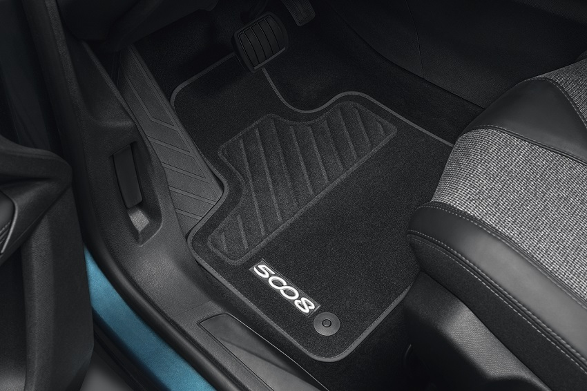 PEUGEOT PEUGEOT 5008 SUV Set of velour floor mats - front and rear