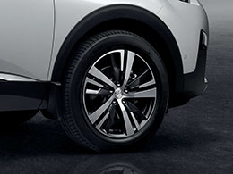 "PEUGEOT PEUGEOT 5008 SUV Set of 4 18"" Detroit alloy wheels"