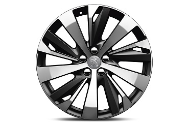 "PEUGEOT PEUGEOT 3008 SUV Set of 4 19"" NEW YORK aluminium rims"