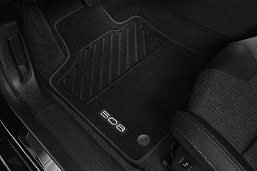 PEUGEOT PEUGEOT 508 Set of velour floor mats front and rear