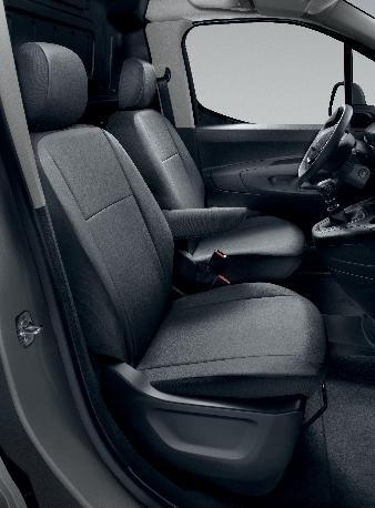 PEUGEOT PEUGEOT PARTNER SEAT COVER SET - 3 SEAT with MULTIFLEX