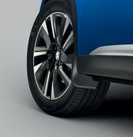 PEUGEOT ALL NEW PEUGEOT 2008 SUV SET OF FRONT MUDFLAPS