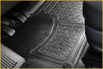 PEUGEOT PEUGEOT BOXER Front floor mat - Rubber